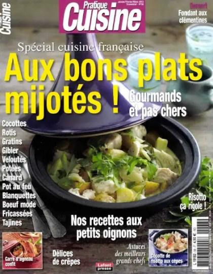 Pratique Cuisine N°68 Janvier Février Mars 2013