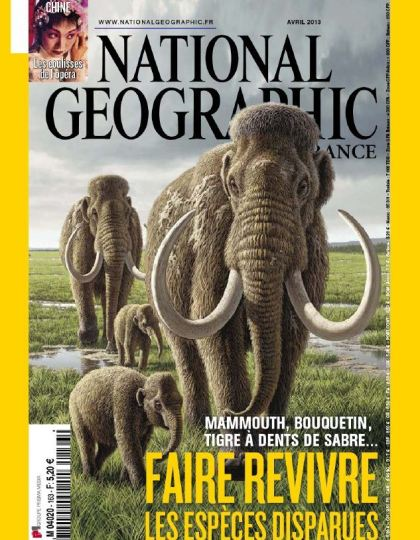 National Géographic N°163 Avril 2013