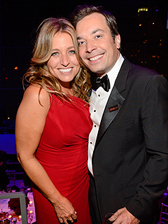 Jimmy Fallon Nancy Juvonen Welcome Daughter Winnie Rose
