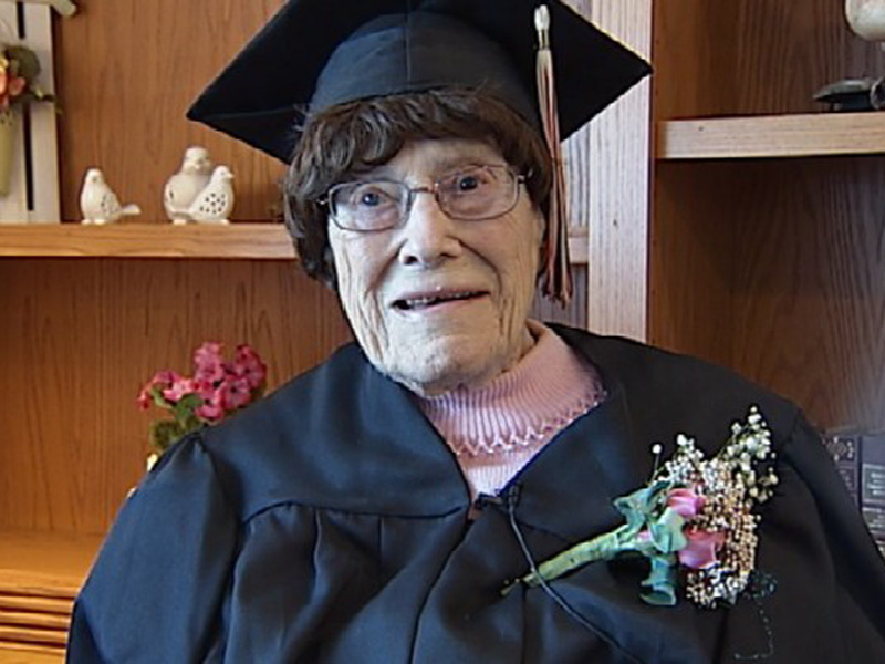 103 Year Old Receives High School Diploma