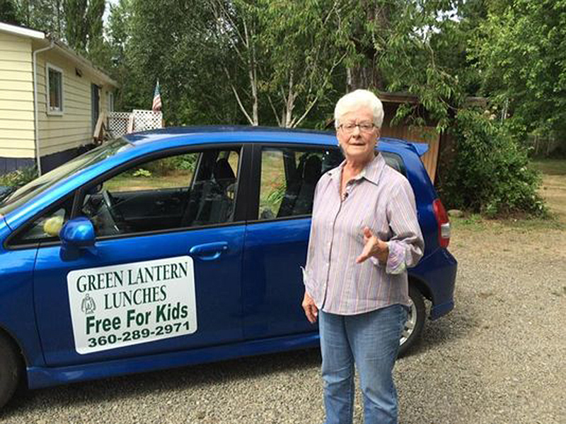 With School Out, Great-Grandma Delivers Free Lunches to Kids in Washington State