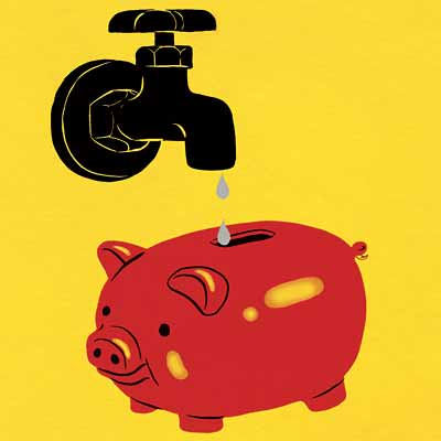 save water and money; october 2006