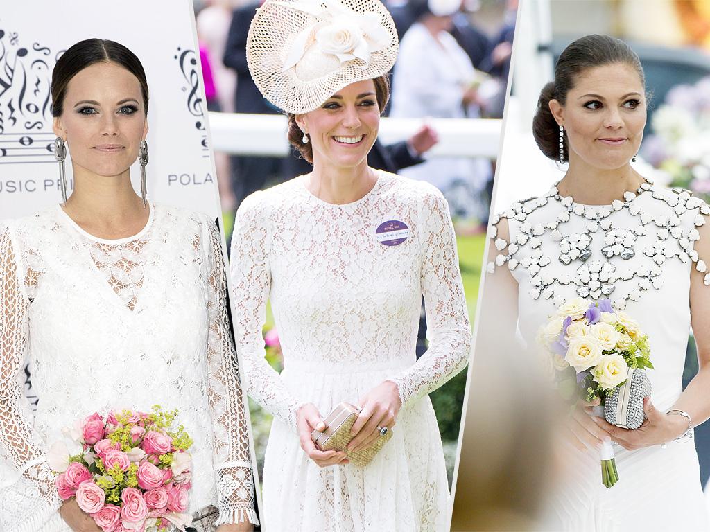 Kate Middleton, Princess Sofia, Princess Victoria Wear