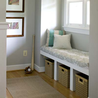 Making A Window Seat With Storage