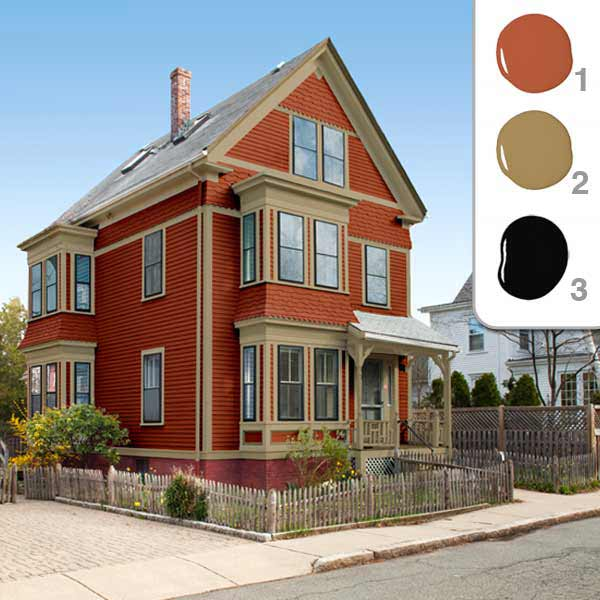 Exterior painting ideas patriot painting professionals inc - How to choose paint colors for house exterior property ...