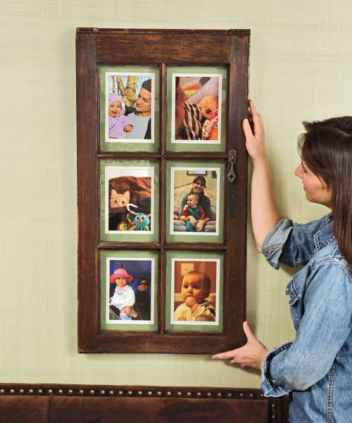 salvage step by step projects Window-Sash Picture Frame