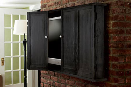 Wall Mounted Flat Screen TV Cabinets
