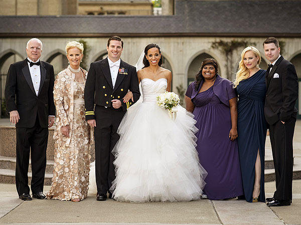 A McCain family group photo with John and Cindy McCain, Jack and Renee McCain, Bridget McCain, Meghan McCain and Jimmy McCain (Courtesy: AnandTech)