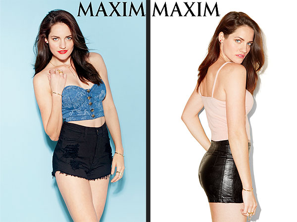 Breaking Amish Star Kate Stoltzfus Poses for Maxim