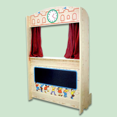 Large Puppet Theater Easy DIY Woodworking Kits For Kids