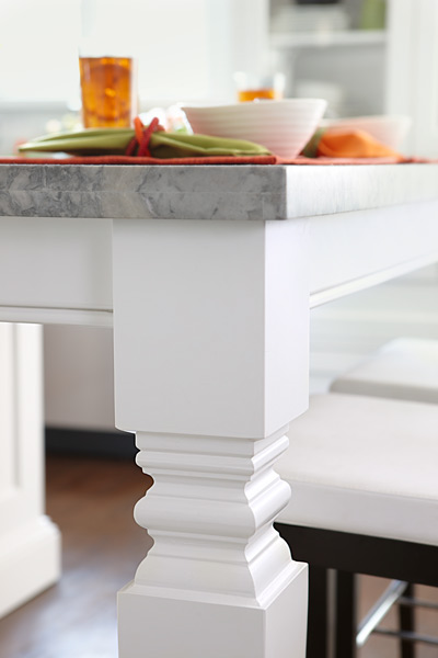 Standout Kitchen Island Legs Kitchen Is A Food Hub Made For Face Time This Old House