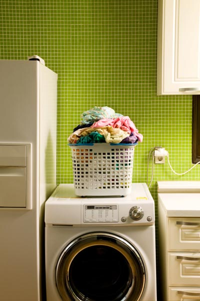 washing machine in laundry room, new years diy resolutions