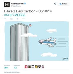 Amos Biderman says his controversial cartoon published by Haaretz was meant to criticize Benjamin Netanyahu for destroying US-Israeli relations.