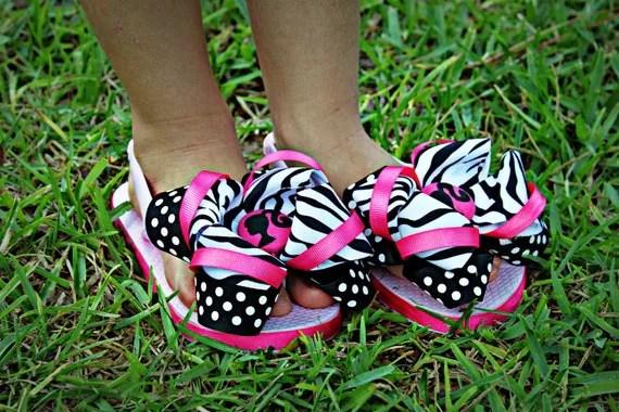 NEW...Custom Barbie Flip flops