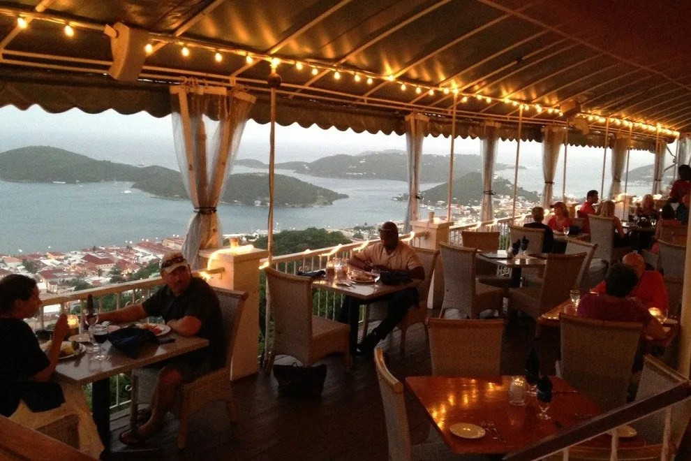 Mafolie Restaurant US Virgin Islands Restaurants Review