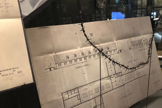These are the blueprints for the gas chambers at Auschwitz