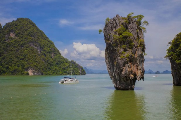 Thanks to the James Bond film <em>The Man with the Golden Gun</em>, Ko Ta Pu might be one of the world's most recognizable rocks