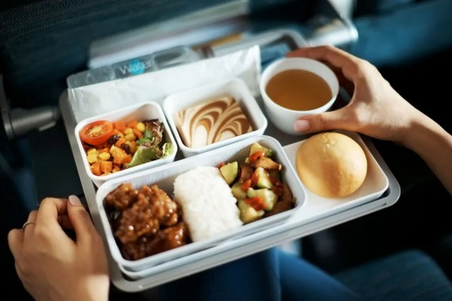 You won't go hungry when flying with Cathay Pacific