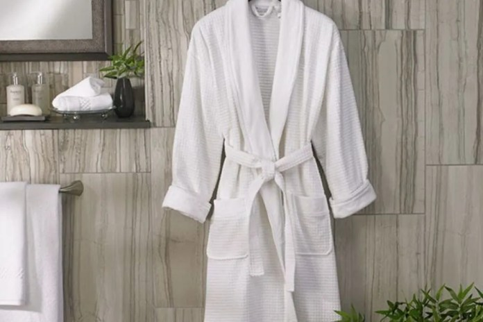 Ritz-Carlton bathrobe