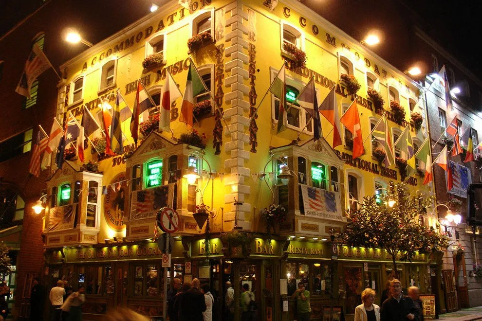Oliver St John Gogarty Dublin Nightlife Review 10Best