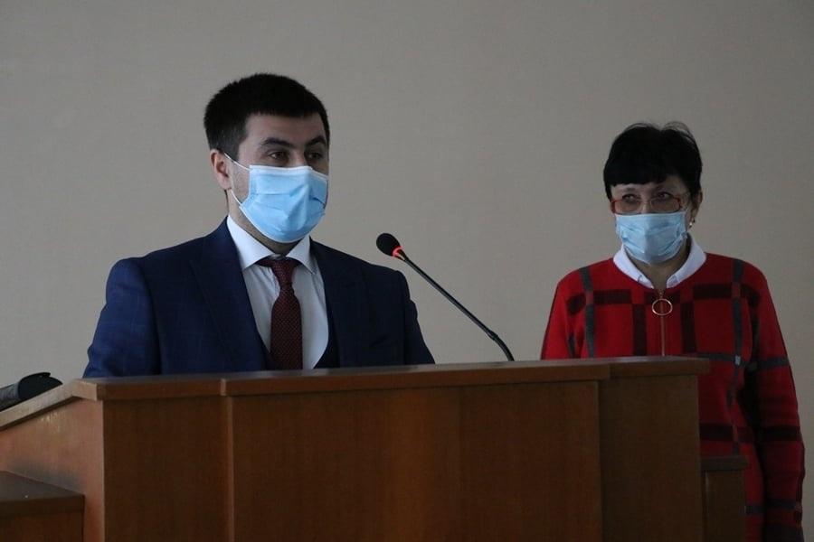 Присяга корюківського міського голови Ратана Ахмедова