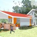 Casa projetada por BNIM. Cortesia de Make It Right