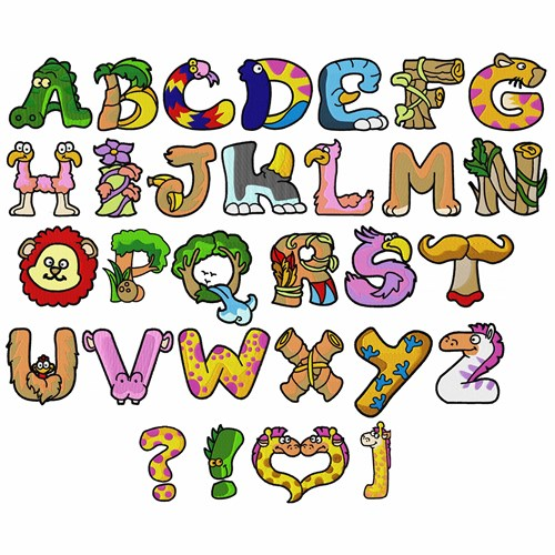 Large Printable Letters A Z