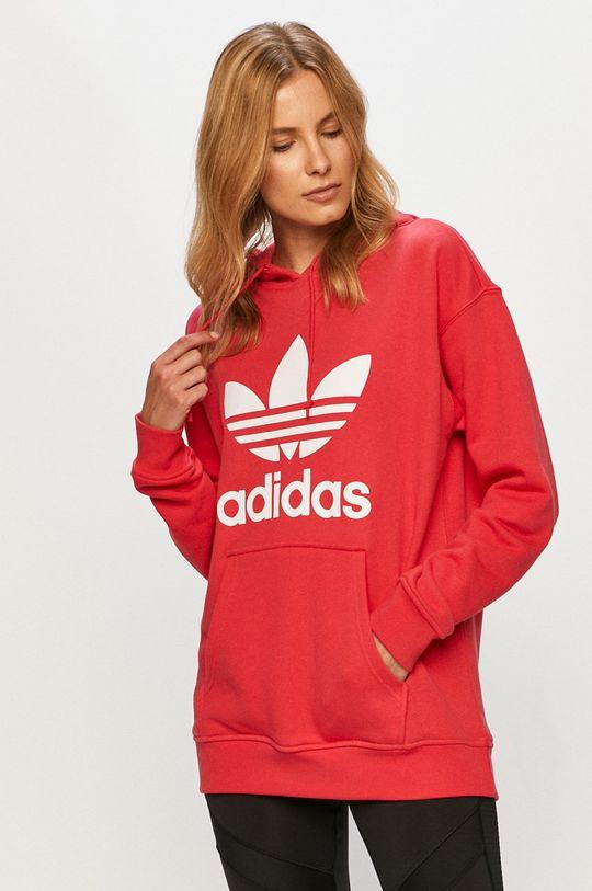 rosu adidas Originals - Bluza De femei