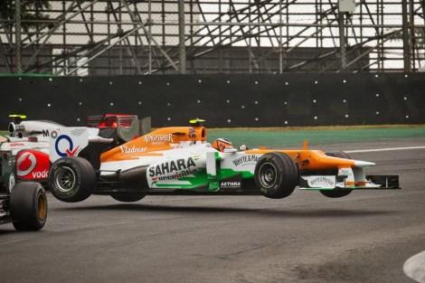 Nico Hulkenberg GP Brazil 2012