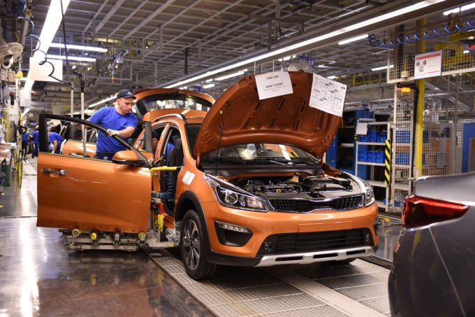 Новый KIA Rio X-Line производится на заводе «Хендэ Мотор Мануфактуринг Рус»