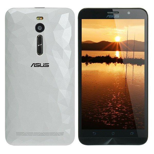 banggood ASUS Zenfone2 DELUXE ZE551ML Atom Z3560 1.8GHz 4コア WHITE(ホワイト)