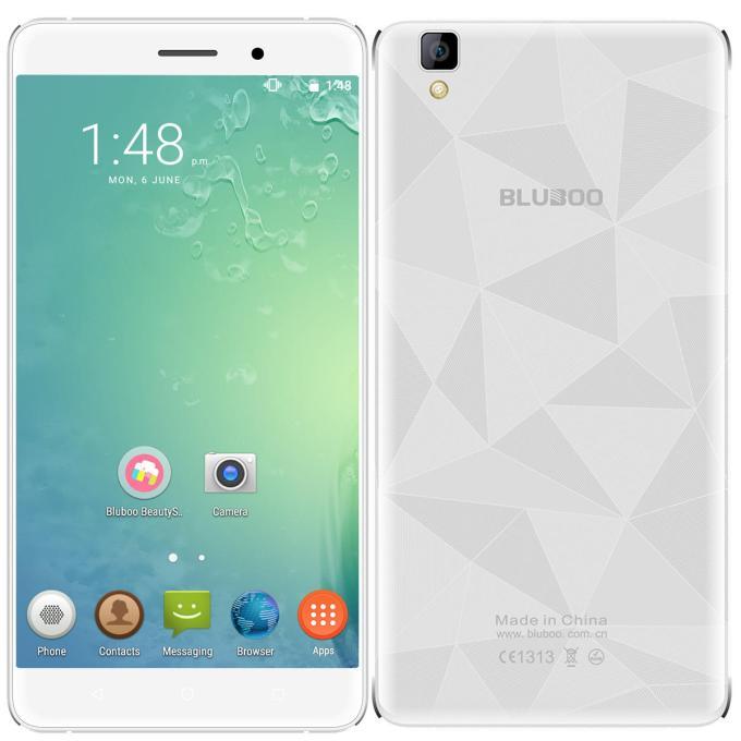 banggood Bluboo Maya MTK6580A 1.3GHz 4コア WHITE(ホワイト)