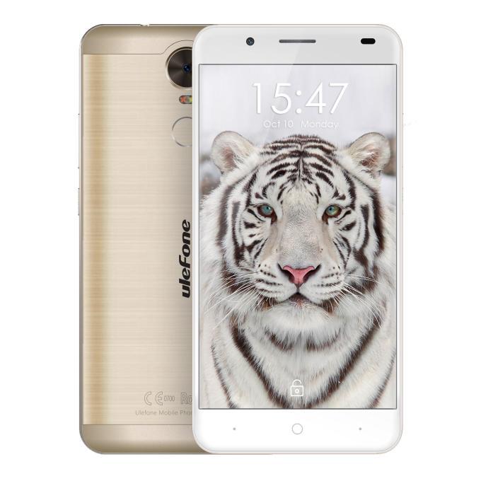 banggood Ulefone Tiger MTK6737 1.3GHz 4コア GOLDEN(ゴールデン)