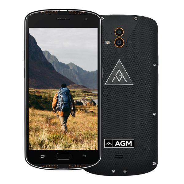 banggood AGM X1 Snapdragon 617 MSM8952 1.5GHz 8コア BLACK(ブラック)