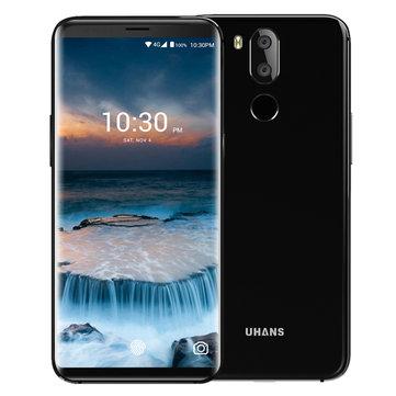 UHANS i8 5.7 Inch Face ID 4GB RAM 64GB ROM MTK6750T Octa-Core 1.5GHz 4G Smartphone