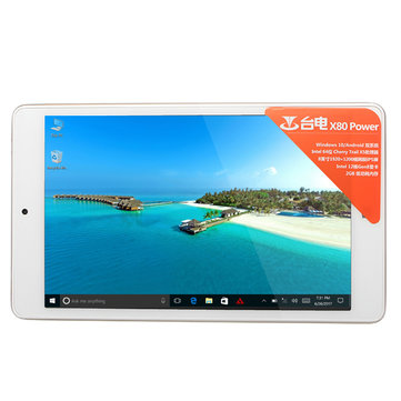 Original Box Teclast X80 Power 32G Intel Z8350 Quad Core 8 Inch Dual Os Tablet PC