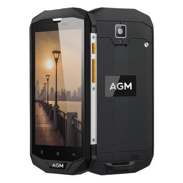 AGM A8 5.0'' Corning Gorilla Glass 3 IP68 3GB RAM 32GB ROM Snapdragon 410 4050mAh 4G Smartphone