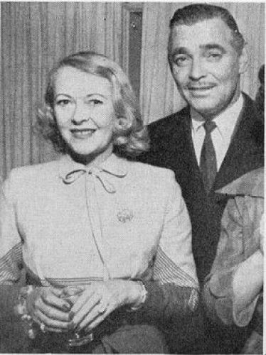 Image result for CLARK GABLE AND sylvia ashley