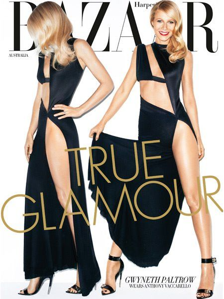 Gwyneth Paltrow - Harper's Bazaar Magazine Cover [Australia] (May 2012)