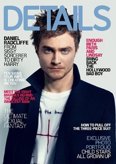 Daniel Radcliffe - Details Magazine [United States] (August 2007)