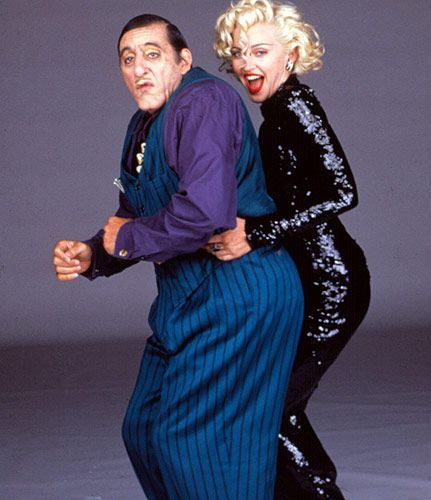 Al Pacino and Madonna in Dick Tracy (1990)