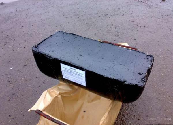 БИТУМ нефтяной строительный - продам. Цена 6.60 грн ...