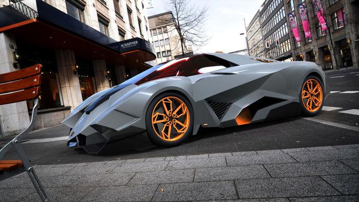 Lamborghini Egoista Cgtrader