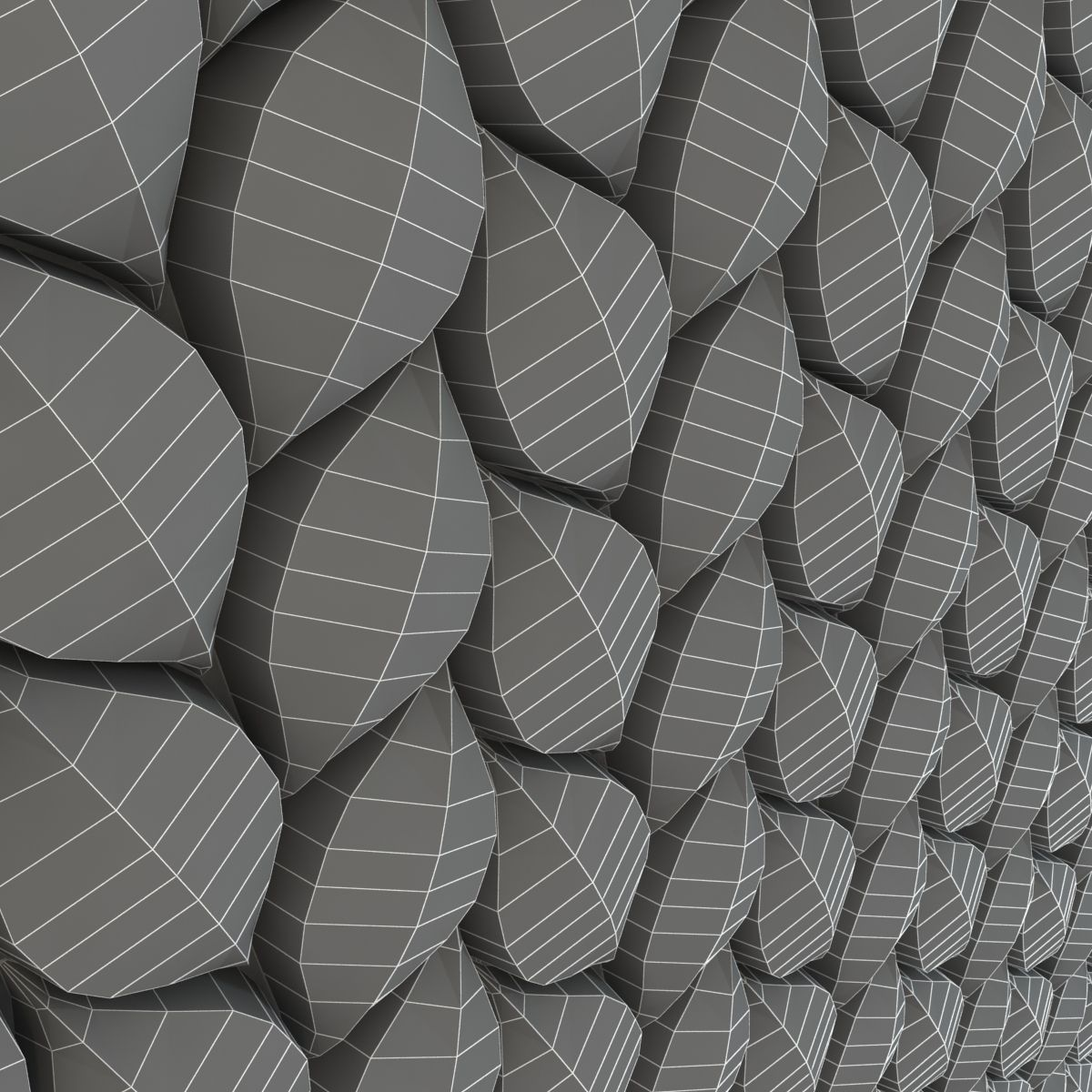 3d Surface - Tressia Wall Tiles 3D Model MAX OBJ 3DS FBX ... on Tile Models  id=72988