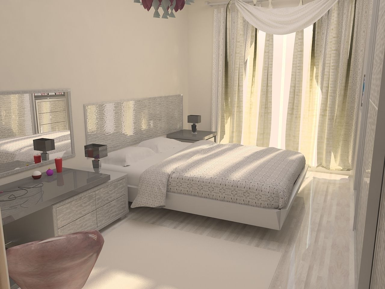 Bedroom design 3D Model MAX | CGTrader.com on Model Bedroom Ideas  id=70752
