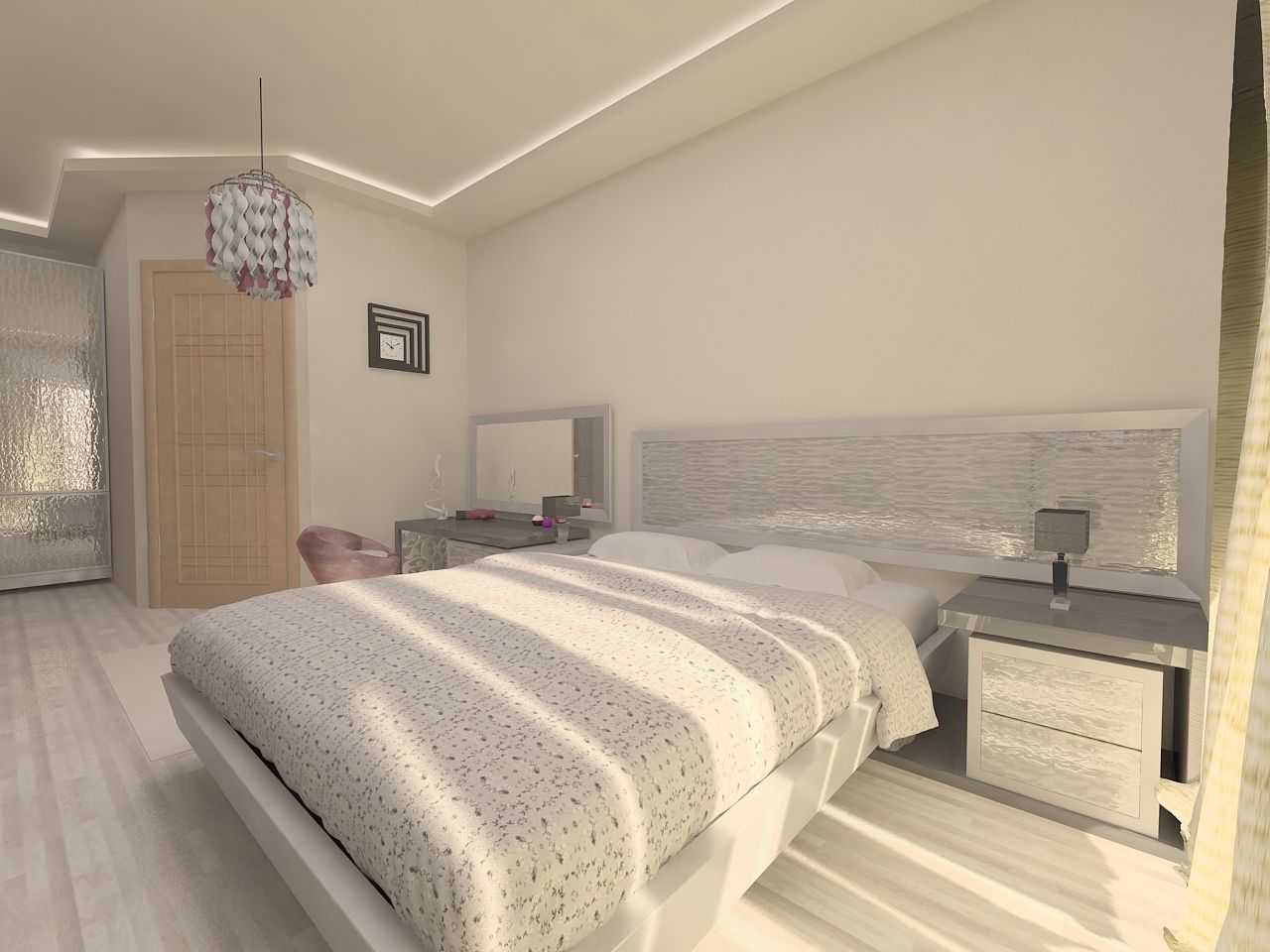 Bedroom design 3D Model MAX | CGTrader.com on Model Bedroom Ideas  id=18386