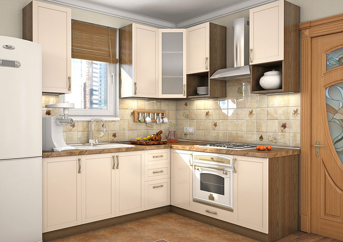 Kitchen Milano 3D model | CGTrader on Modern:ln_Sacsp1Ua= Kitchen Model  id=19450