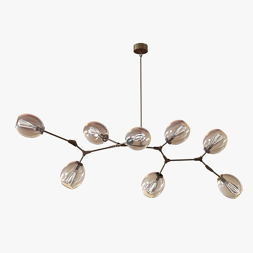 Lindsey Adelman Globe Branching Bubble Chandelier Model