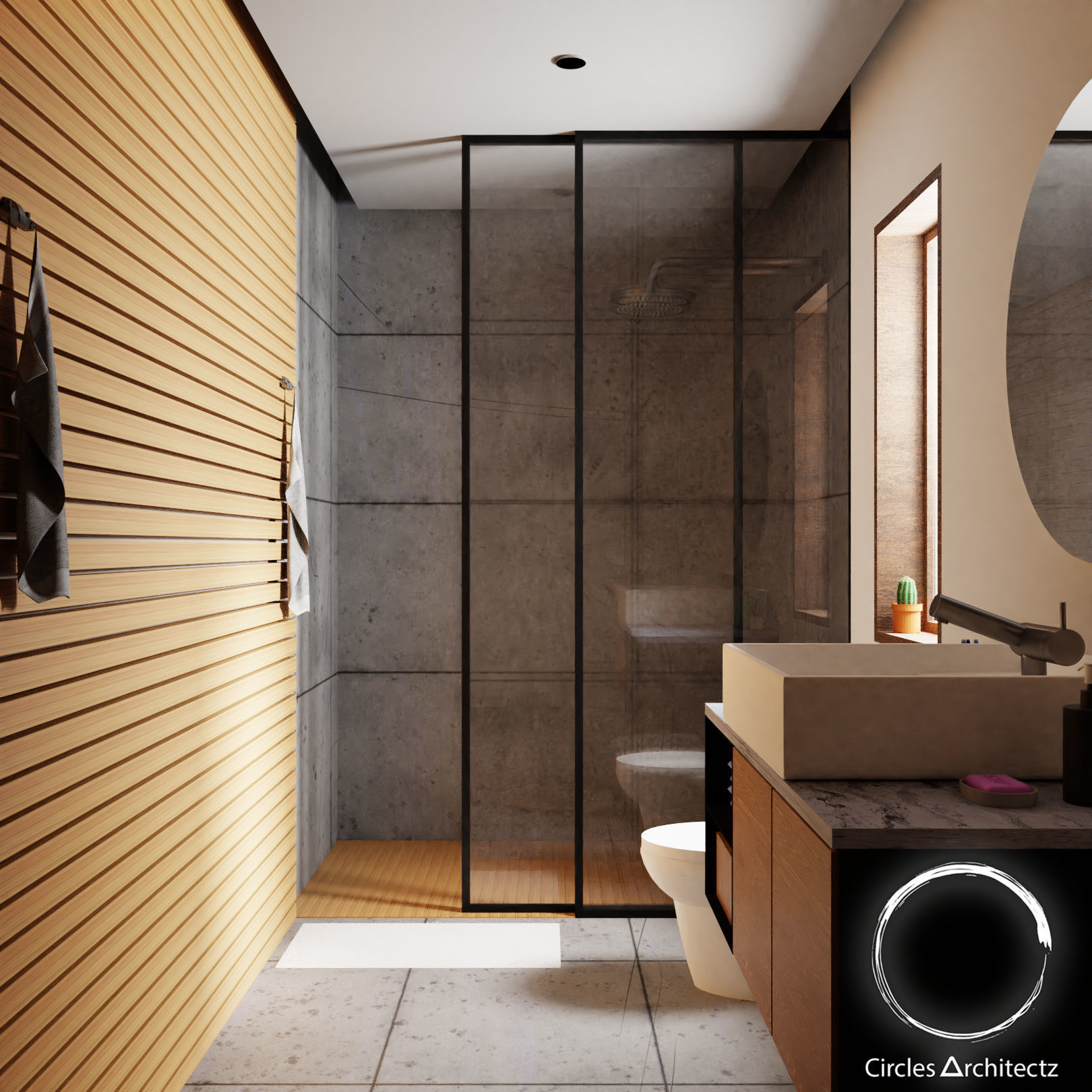 3D model Minimal Bathroom Design | CGTrader on Model Toilet Design  id=50394