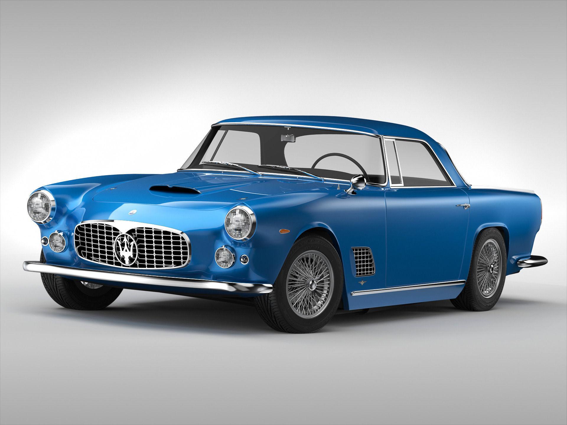 Maserati 3500 Gt 1957 1964 3d Model